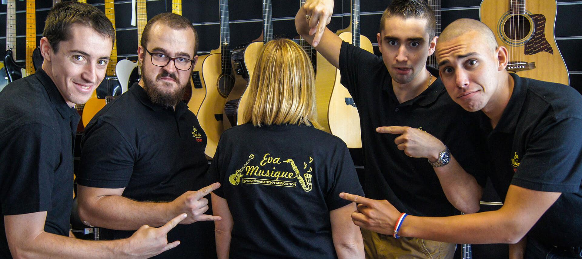 Contacter le magasin de musique Valence