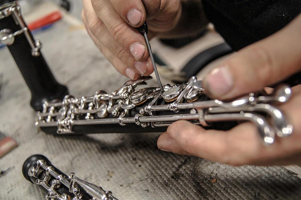 Réparation instrument Givors : instrument à vent