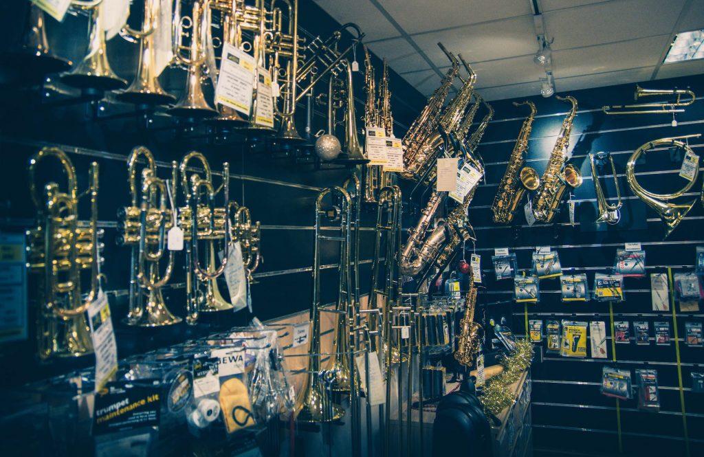 Rayon Instruments à vent